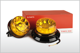 New strobe-type beacons in the Elparts range