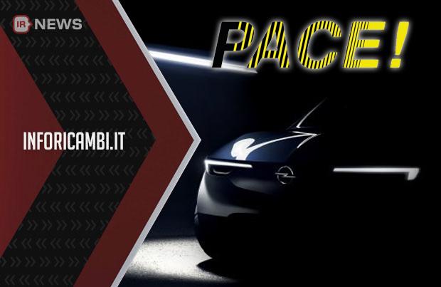 Opel: nel 2019 parte il piano Pace!