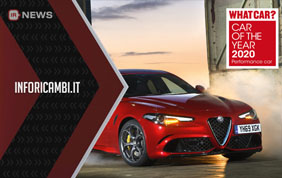 Alfa Romeo Giulia Quadrifoglio Car of the Year 2020