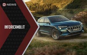 Audi e-tron svelata al pubblico italiano