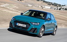 Nuova Audi A1 Sportback: peso piuma