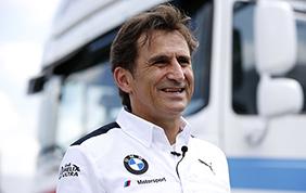 Un super Alex Zanardi nel DTM con BMW