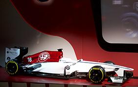 Svelata la livrea della Alfa Romeo in Formula 1
