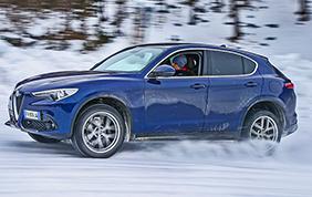 Il SUV più desiderato dell'inverno? Fiat 500X e...Stelvio!
