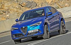 Alfa Romeo Stelvio Quadrifoglio: la nostra prova su strada per le vie di Dubai