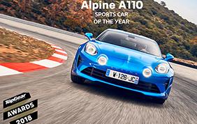 La Alpine A110 conquista TopGear
