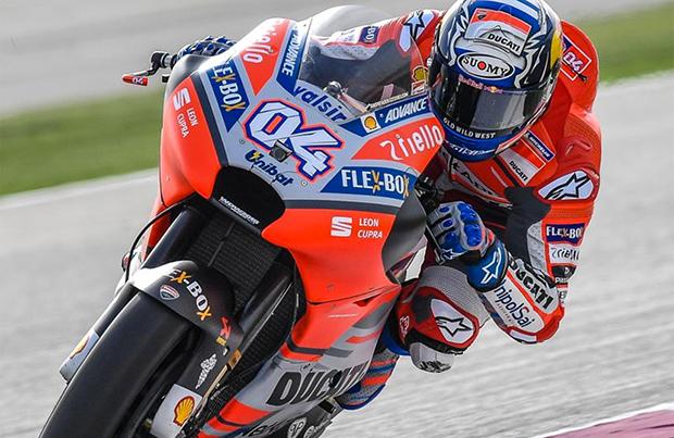 Andrea Dovizioso rinnova con il Ducati Team