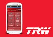 Ricambi TRW: c'è la nuova app per android