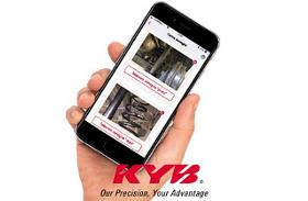 Scopri la nuova APP - KYB Suspension Solution