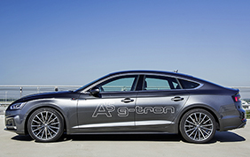 Audi rinnova la gamma g-tron