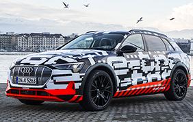 e-tron: al via le ordinazioni della prima 100% di casa Audi