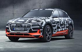 Audi scommette sulla rivoluzionaria e-tron