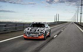 Audi presenta la sua gamma di veicoli elettrici
