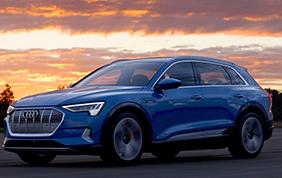 Telaio in alluminio per la nuova Audi e-tron