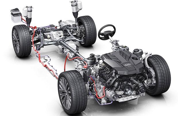 Tecnologia mild hybrid per la nuova Audi A4 ed A5