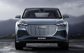 Piattaforma modulare elettrica per la nuova Audi Q4 e-tron concept