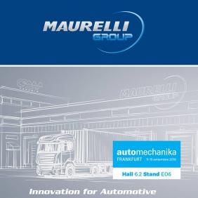 Maurelli Group presente ad Automechanika Frankfurt 2018