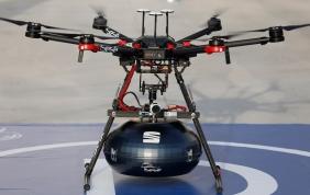Gli autoricambi volano con i droni