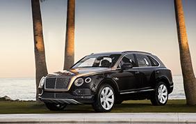 Bentley auto ufficiale del 58esimo Salone Nautico di Genova