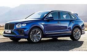 Bentley Bentayga Speed: ecco il SUV del futuro