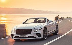 Bentley Continental GT Convertible: tutto pronto per il Salone di Torino