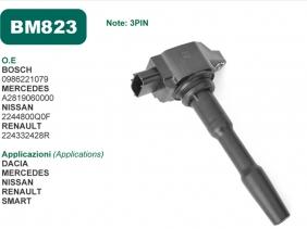 Mecra comunica la disponibilità della Bobina accensione BM823