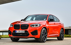 Nuova BMW X3 M ed X4 M Competition