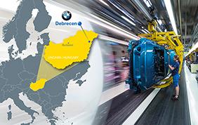 BMW inaugura un nuovo stabilimento in Ungheria