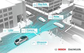 Una metropoli interconnessa grazie ai test Bosch e Daimler