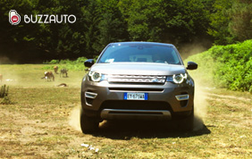 La nuova suv LandRover Discovery Sport HSE Luxury