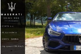 Carrumble presenta: Maserati Ghibli