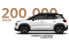 Il successo della nuova Citroen C3 Aircross