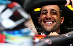 Daniel Ricciardo con la scuderia Renault Formula 1 dal 2019
