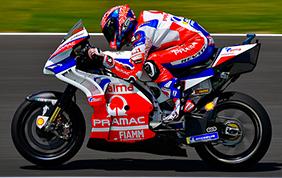 Danilo Petrucci firma con il Ducati Team