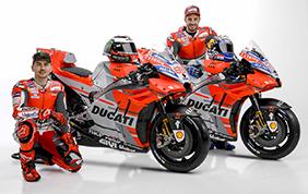 Ducati presenta a Borgo Panigale il Team MotoGP 2018