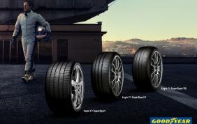 Goodyear presenta la neo gamma di pneumatici Eagle F1 SuperSport
