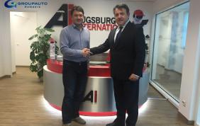 Siglato accordo Etecno1 - Augsburg International