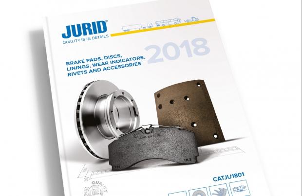 Nuovo catalogo Jurid per il frenante