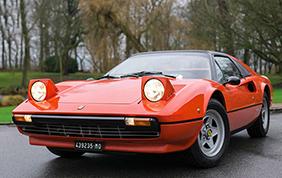 All'asta la Ferrari 308 GTS di Gilles Villeneuve