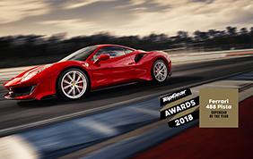Ferrari 488 Pista Supercar of the Year 2018