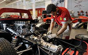 La divisione Ferrari Classiche presente al salone Europeo AutoClassica