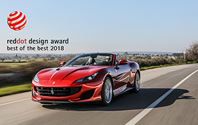 Ferrari Portofino conquista il premio Red Dot Best of the Best