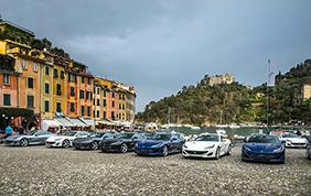 Ferrari Portofino Tour: in giro per l'Europa