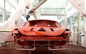 Ferrari punta sulla verniciatura a bassa temperatura