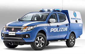 Fiat Professional Fullback Polizia Scientifica