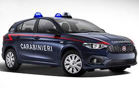 500 nuove Fiat Punto in dotazione all'Arma dei Carabinieri