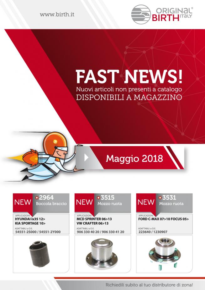 FASTNEWS MAGGIO 2018