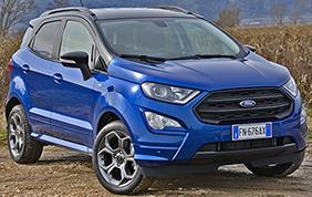 Compatto ed eco: nuovo Ford EcoSport