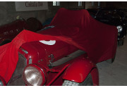 Sofin al Mercanteinauto di Parma con il carcover per auto d'epoca