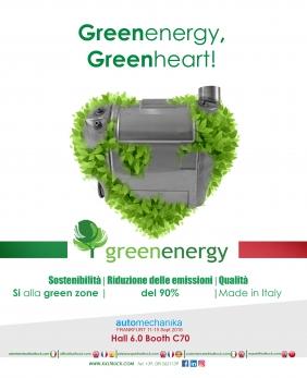 GreenEnergy sinonimo di energia pulita
